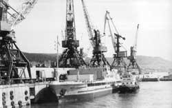 Осетровский речной порт – главное градообразующее предприятие